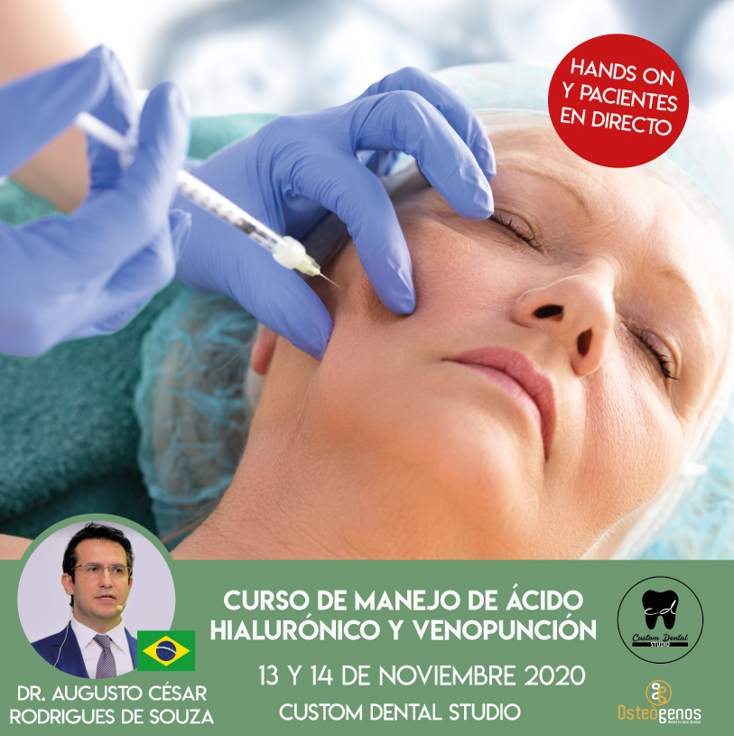 CURSO DE MANEJO DE ÁCIDO HIALURÓNICO Y VENOPUNCIÓN. *(4ª edición)*