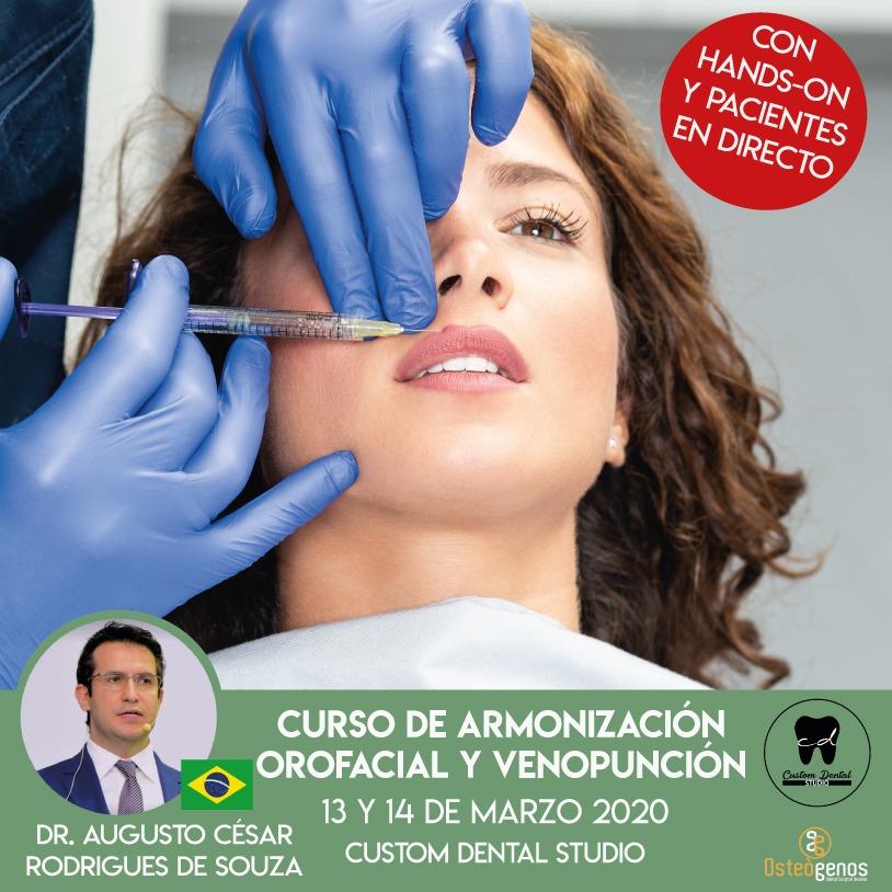 CURSO DE ARMONIZACIÓN OROFACIAL Y VENOPUNCIÓN. *Hands on y práctica en pacientes (3ª edición)*