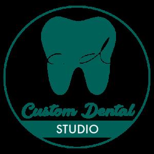Custom Dental Studio - Logo Dark Green